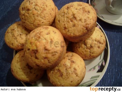 Muffiny s karamelovou čokoládou