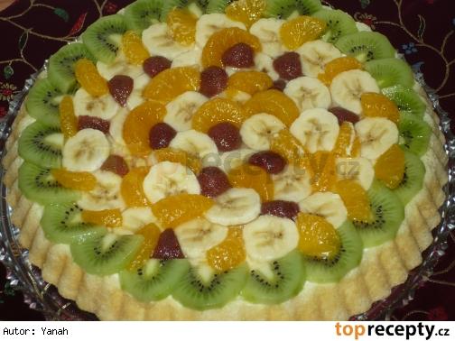 Ovocná torta Créme Olé