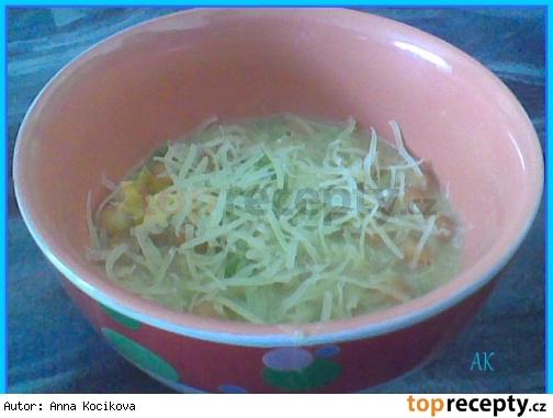 Pórová polievka s ovsenými vločkami