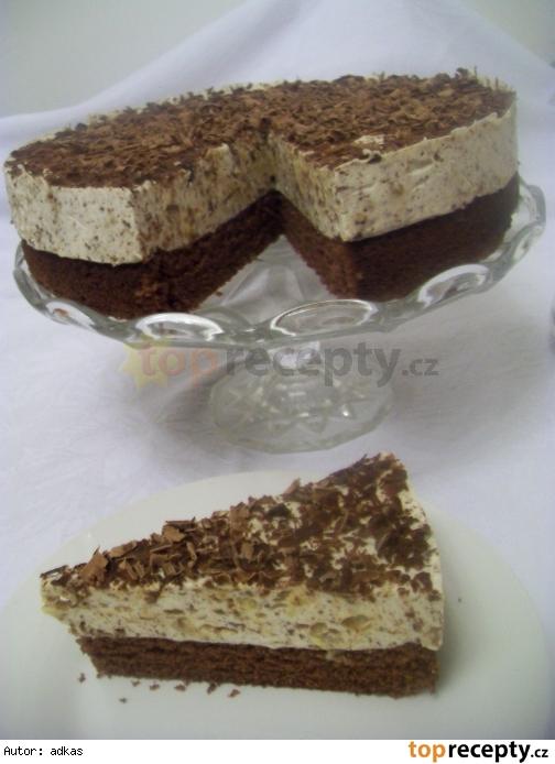 Cokoladovo-marcipanova torta