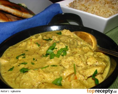 Indická kuchyňa - kuracia korma