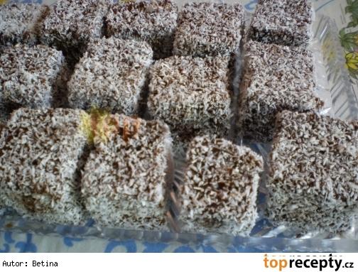 Kokosové kocky / Kokosové kostky