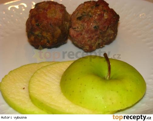 Mäsovo-jablkové guľky