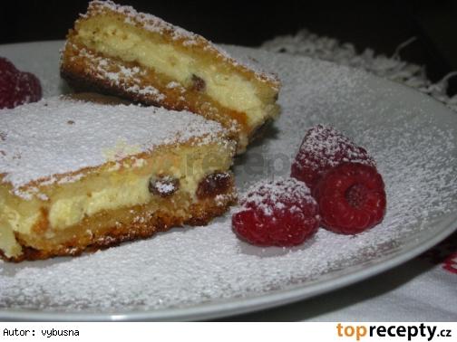Výborný tvarohový koláč