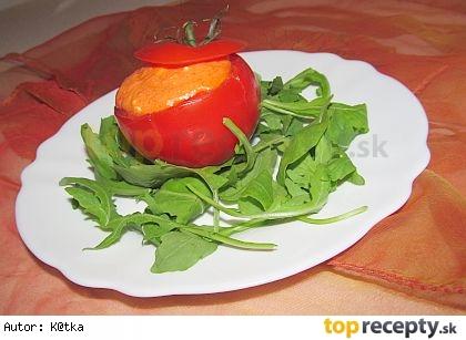 """""""Nízkokalorická pochúťka"""": Plnené paradajky s pečenými paprikami"""