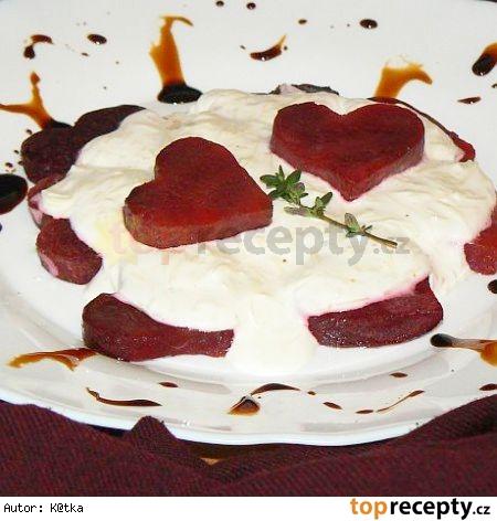 """""""Romantická večera vo dvoch"""": Srdiečka z červenej repy"""