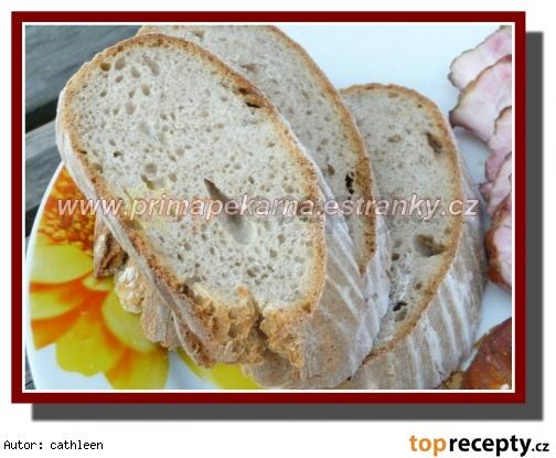 Celkokváskový pšenično-ražný chlieb /Celokváskový pšenično-žitný chléb
