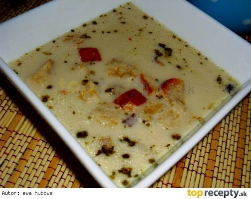 Pikantná cesnaková polievka /Česneková polévka pikantní