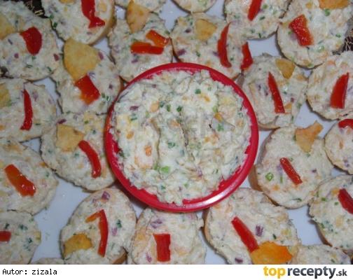 Chipsová zemiaková nátierka Petera Novotného/Chipsová bramborová pomazánka Petra Novotného