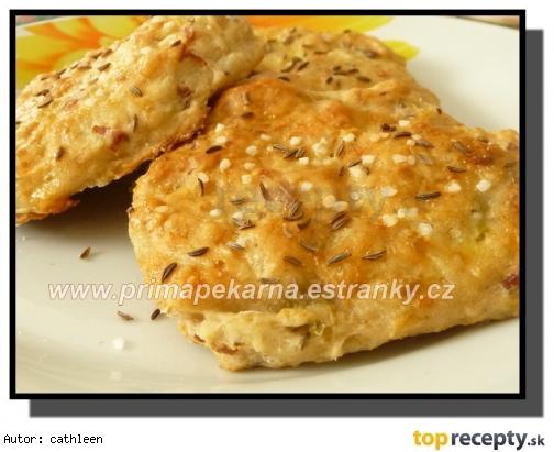 Chlebové kapustové placky /Chlebové zelné placky