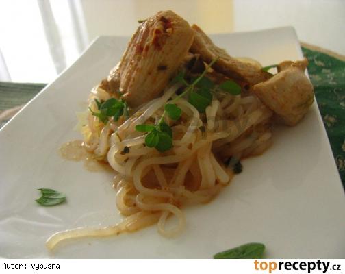 Dietne morčacie kúsky v majoránkovo cmarovej štave s cestovinami shirataki. I. fáza dukanovej diéty