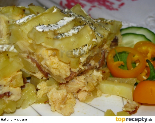 Francúzske zemiaky bez varených vajíčok