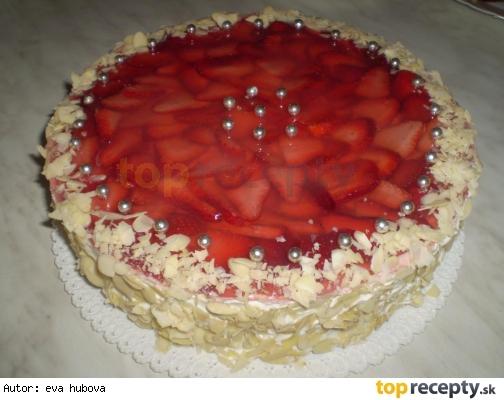 Jahodová torta /Jahodový dort
