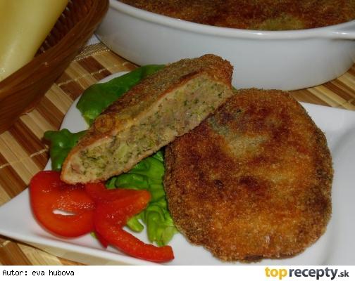 Karbonátky z vareného mäsa a brokolice /Karbenátky z vařeného masa s brokolicí