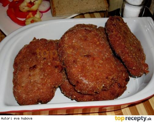 Karbonátky z vareného mäsa a salámy /Karbenátky z vařeného masa se salámem