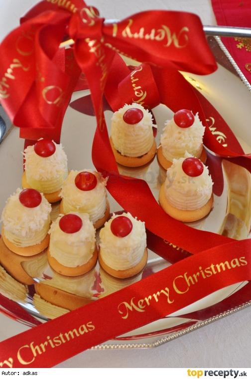 Kokosové úliky vo vianočnom šate
