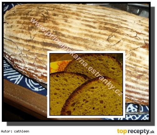 Konzumný rascový chlieb s jogurtom /Konzumní kmínový chléb s jogurtem
