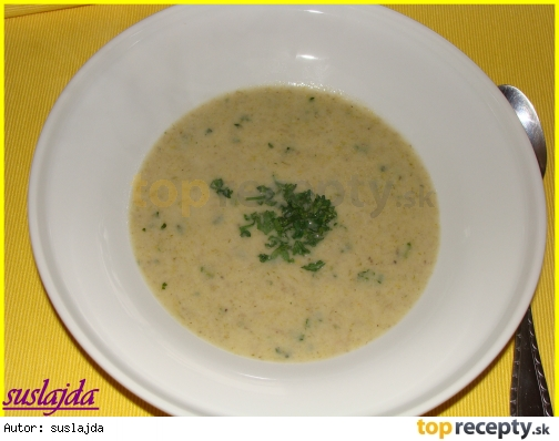 Krémová hlivovo-pórová polievka /Krémová hlívovo-porková polévka