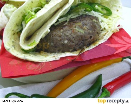 Mexický hamburger