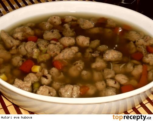 Pečienkové halušky do polievky