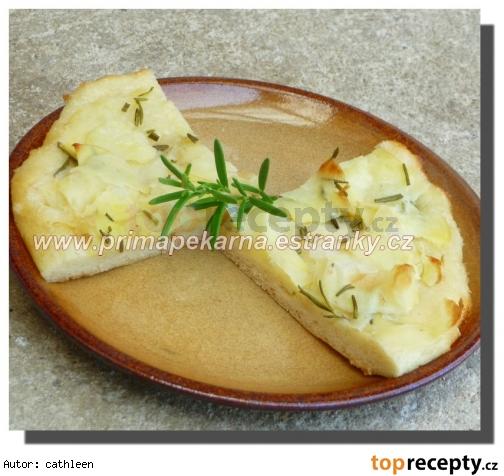 Pizza so zemiakovou náplňou /Pizza s bramborovou náplní