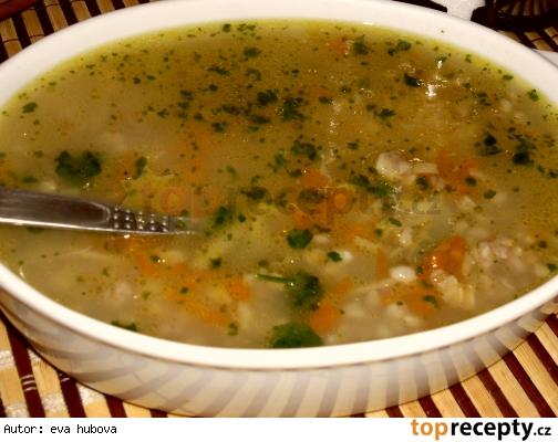 Pohanková polievka