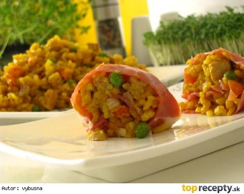 Španielska ryža na spôsob paelly s chuťou serrana