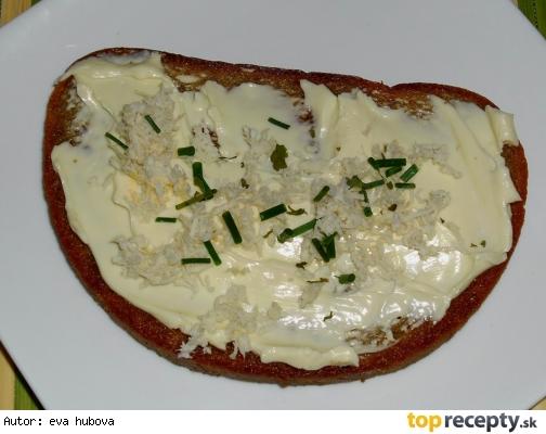 Topinka se sýrem-rychlá svačinka