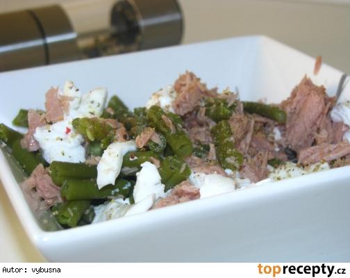 Tuniakovo fazuľkový šalát