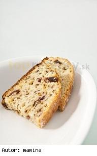 Tvarohový chlebík zo stévie sladkej