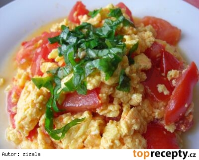 Talianske vajíčka /Vajíčka po italsku