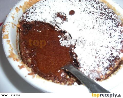 Zapečená čokoláda