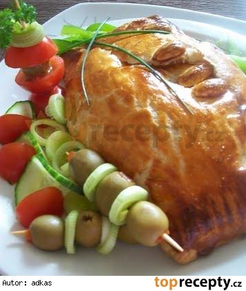 Zapečený camembert