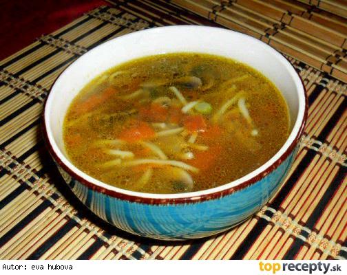 Čínská drůbeží polévka