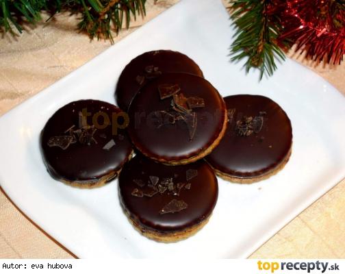 Čokoládové kolieska / Čokoládové kolečka