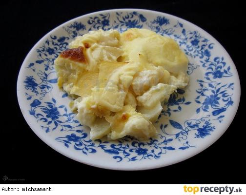 Francuzske zemiaky s besamelom