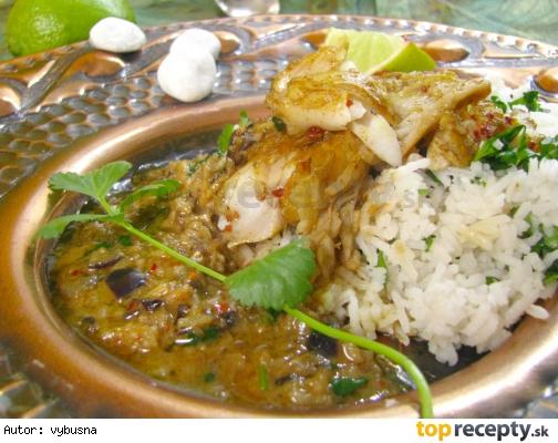 Indická kuchyňa - rybie kari