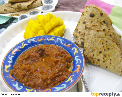 Indicka kuchyna - Skladane chapati