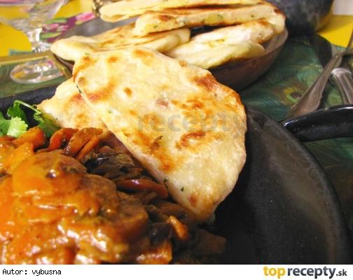 Indické placky plnené korenenými zemiakmi – Aloo Parathas