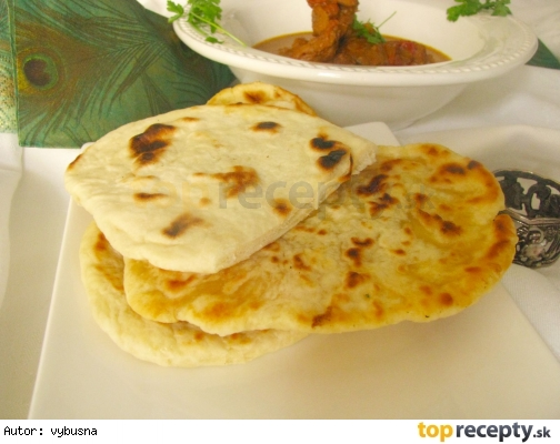 Indicky chlieb naan