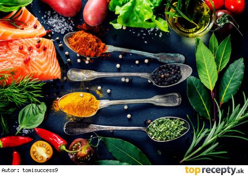 Kebab z rýb a zeleniny