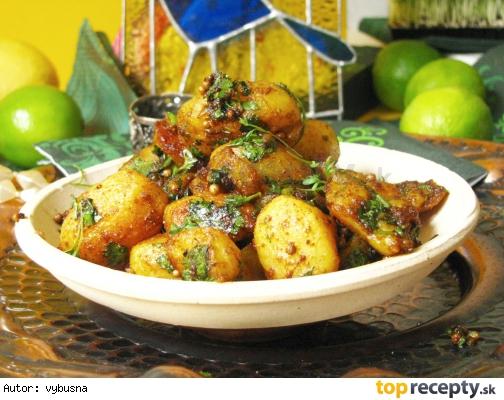 Korenené pečené zemiaky