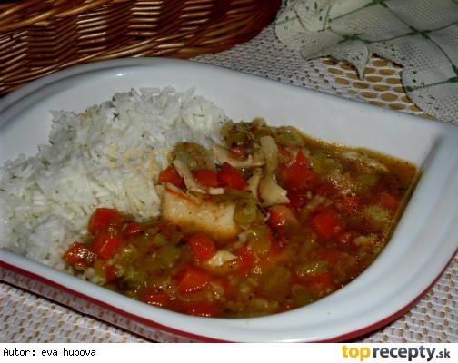 Kuracie stehná so zeleninou /Kuřecí stehno se zeleninou