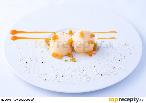 Mango kulfi - mango panacotta
