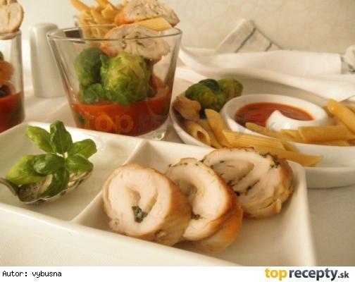 Morčacie prsia s cesnakovou chuťou v talianskej omáčke
