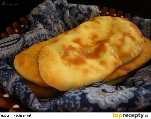 Naan - indicky chlieb