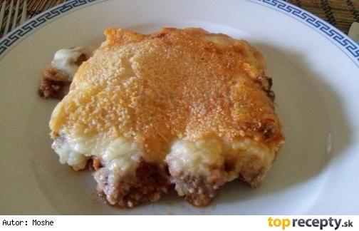 Pastiersky koláč z jahňacieho mäsa
