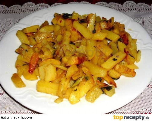 Pečené zemiaky /Pečené brambory