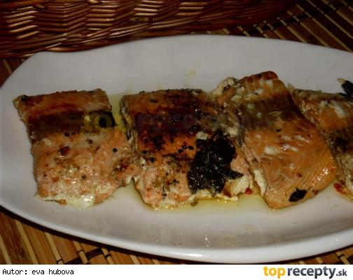 Pečený korenený losos /Pečený losos s kořením
