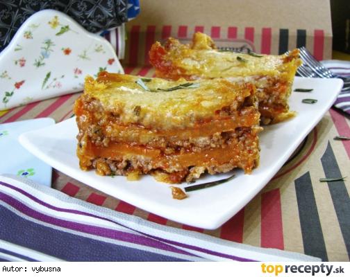 Prekladané sladké zemiaky ako lasagne